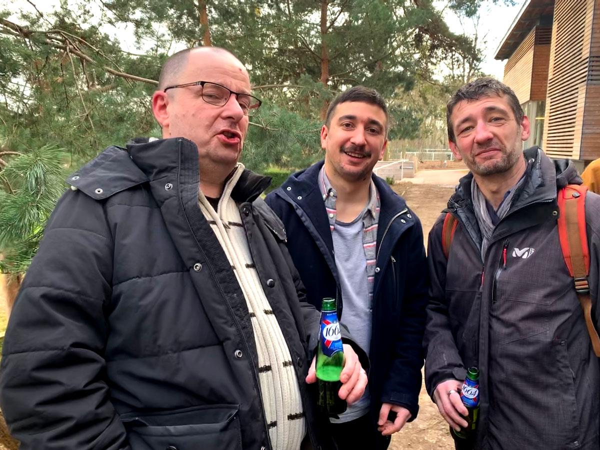 Doud, Régis, Sbat après le match des tontons flankers